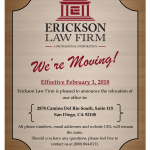 New Office Location Announcement